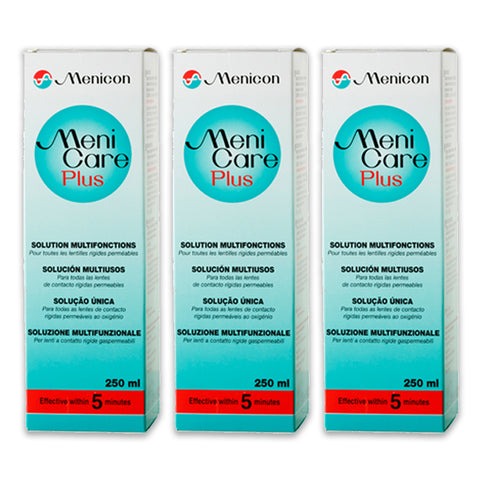 Menicare Plus 250 ml - Triple Pack