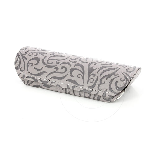 Grey Swirly Pattern Ladies Glasses Case