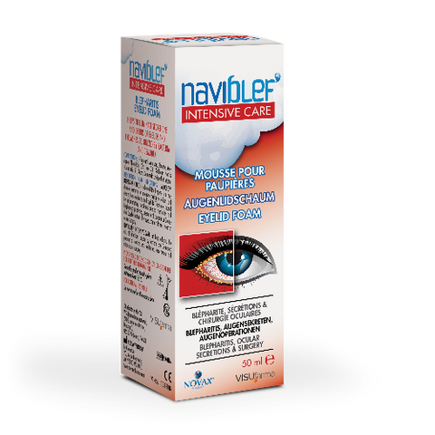 Naviblef Intensive Care Eyelid Foam-SALE Expiry Jan 21