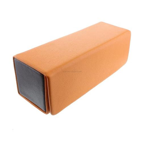 Orange Box-shaped Glasses Case - Eyecare-Shop