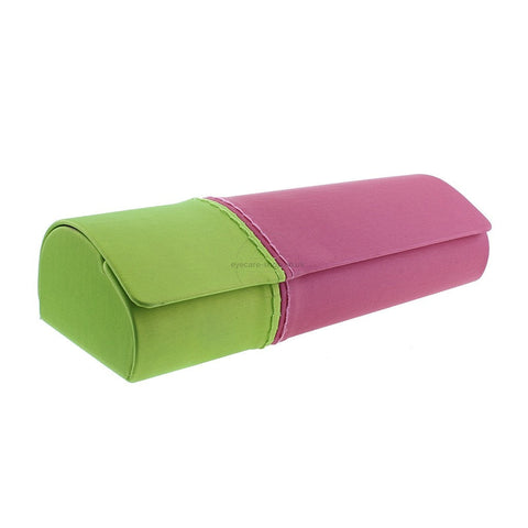 Pink Lime Green women Spectacle Case
