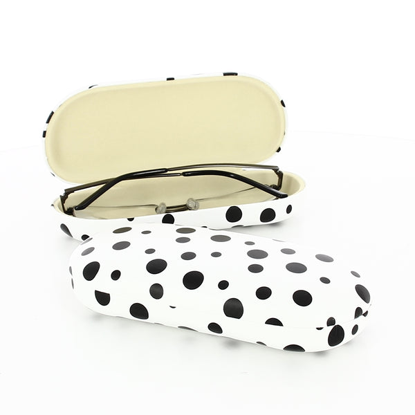Polka Metal Glasses Case