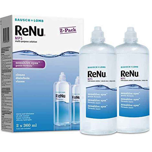 ReNu MPS Twin Pack 2 x 360ml *Sale* - Expiry May 2021