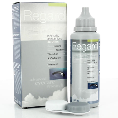 Regard Contact Lens Solution 100ml -SALE - Short Expiry in Mar 21