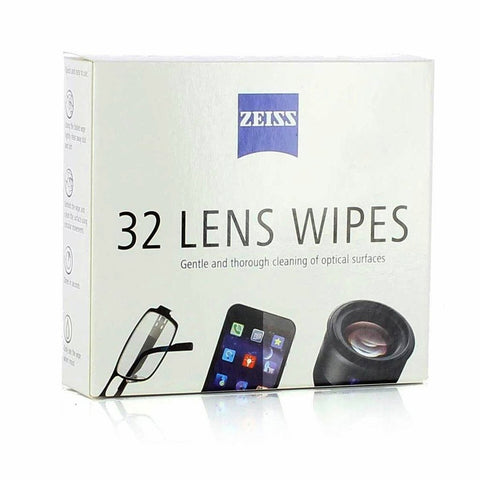 Zeiss Lens Wipes - 32 Wipes