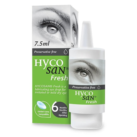 Hycosan Fresh Eye Drops for Dry Eyes