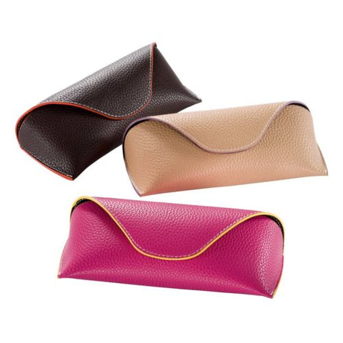 Jasmin Leather Look Glasses Case