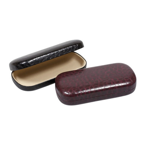 Jumbo Croc Effect Glasses Case