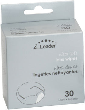 Leader Ultra Soft Lens Wipes