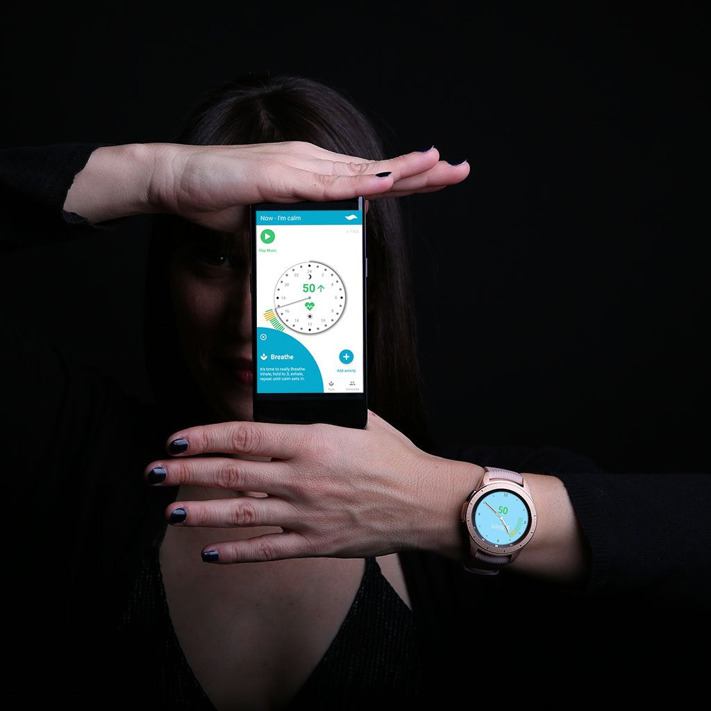 The world's first stress balancing app