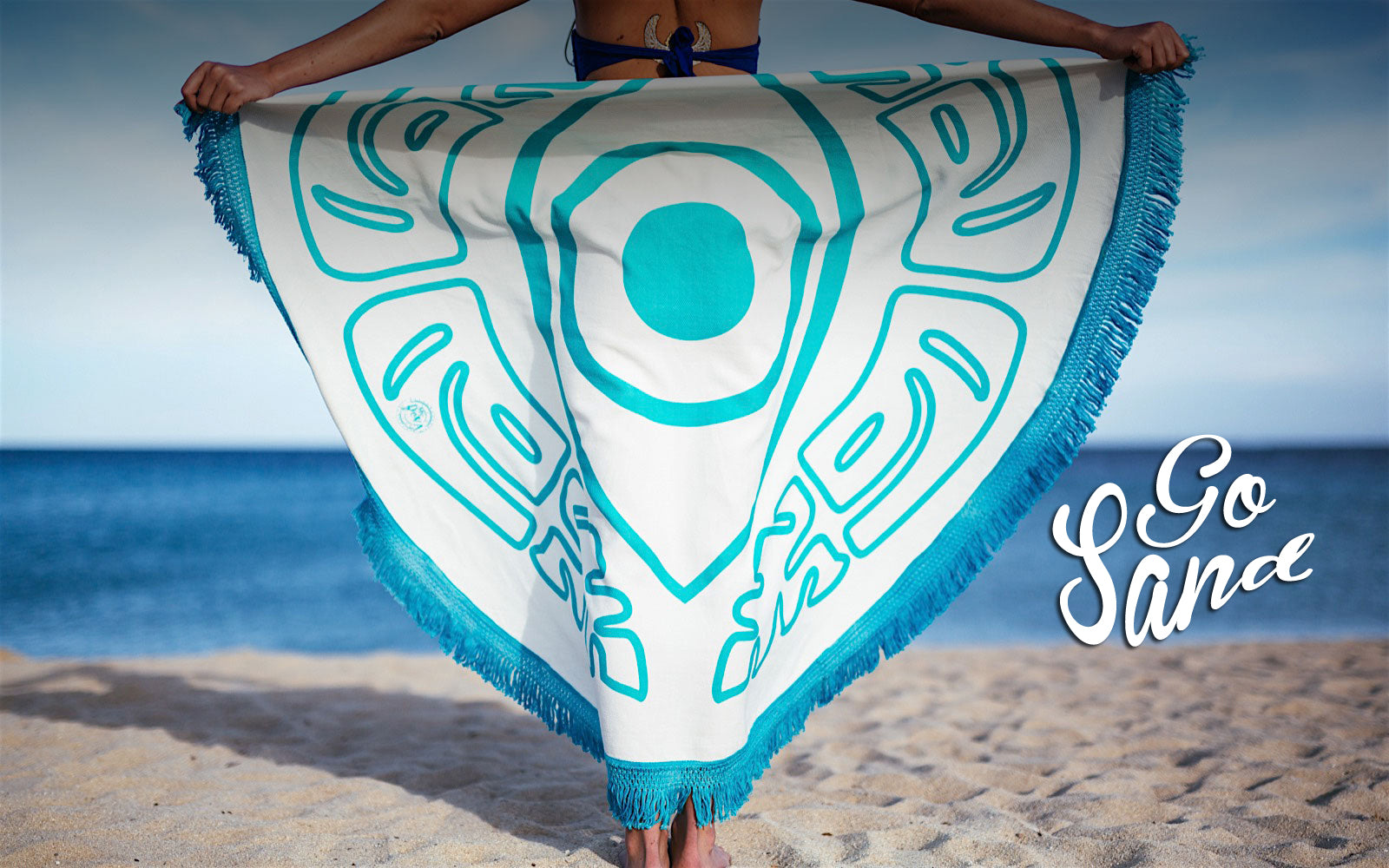 Our boho beach towels are perfect for the hot summer days in Florida.