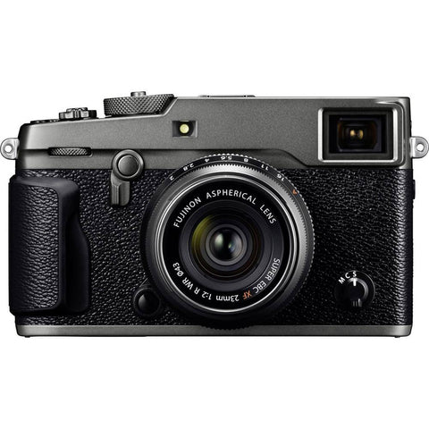 Fuji Fujifilm X-Pro2 Digital Camera with XF23 mm F2 R WR Lens - Graphite 24.3MP
