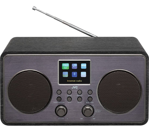 JVC RA-D58B Smart Wi-Fi Bluetooth Radio. With FM, DAB and Internet Streaming