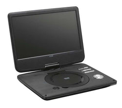 "Logik 10.1"" Inch Portable DVD Player Swivel Screen with 12v in-car Charger & USB"