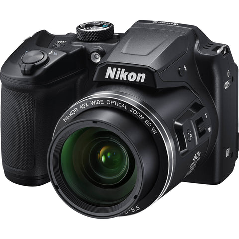 Nikon B500 Coolpix Bridge Digital Camera 16MP 40x Nikkor Optical Zoom