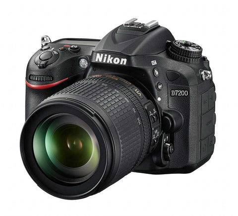 Nikon D7200 Digital SLR with 18-105 mm f/3.5-5.6 VR Lens Kit