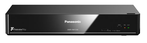 Panasonic DMR-HWT250EB Smart Wi-Fi 1TB Recorder with Twin Freeview+ HD Tuner