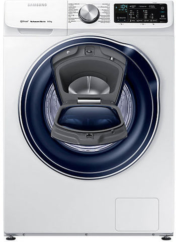 Samsung QuickDrive WW6800 Smart 8 kg 1400 Spin Washing Machine - White, WW80M645OPW