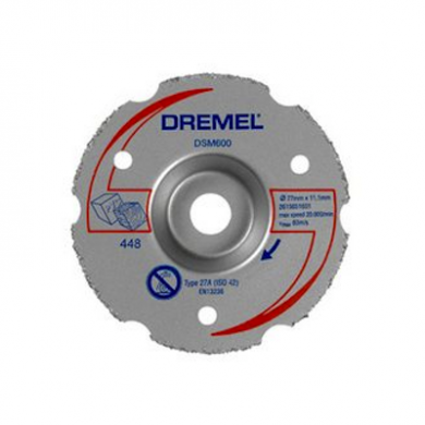 Dremel DSM20 Multipurpose Carbide Flush Cutting Wheel ( DSM600 )