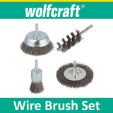 Wire Brush Set for Power Drill