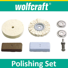 Wolfcraft Hobby Polishing Set