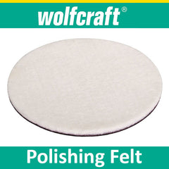 Wolfcraft easy fix felt polishing disk