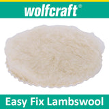 Wolfcraft easy fix lambswool bonnet