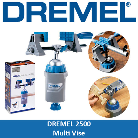 Dremel Workstation Multi-Vise Wolfcraft Vise Combo