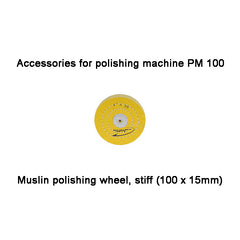 Muslin polishing wheel, stiff (100 x 15mm) , PM 100 (28000)