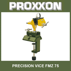 Precision vise FMZ with integrated clamp