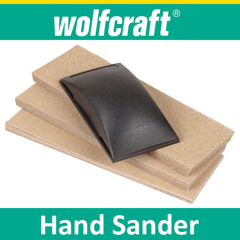 Wolfcraft hand sander set 51 pieces