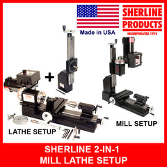 Sherline 2in1 Mill Lathe Combo