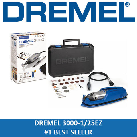 Dremel 3000-1/25EZ-S Multitool Kit Workstation Combo
