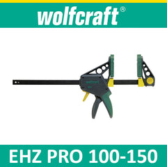 Wolfcraft EHZ PRO 100-150 One-hand clamps
