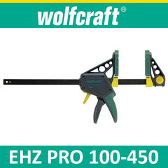Wolfcraft EHZ PRO 100-450 One-hand clamps
