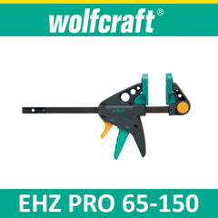 Wolfcraft EHZ PRO 65-150 One-hand clamps