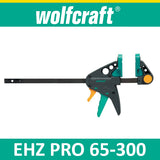Wolfcraft EHZ PRO 65-300 One-hand clamps