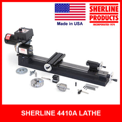 4400A/4410A 3.5 x 17-inch Lathe with Chucks