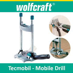 Wolfcraft Tecmobil - Mobile Drill Stand