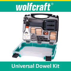 Wolfcraft Universal Dowel Kit
