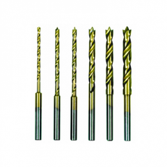 HSS Twist Drill Set With Centering Spike, 6 Pcs.