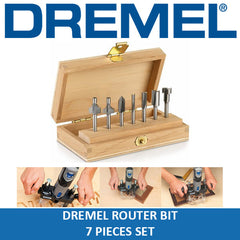 Dremel 660 Router Bit Set