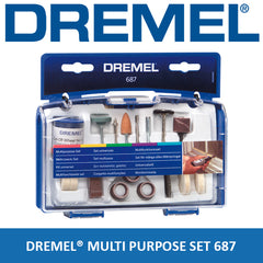 Dremel 687 Multi Purpose Accessory Set