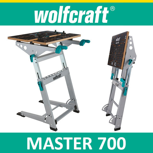 Wolfcraft Master 700 Clamping And Machine Table Sg