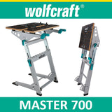 Wolfcraft MASTER 700 - clamping and machine table