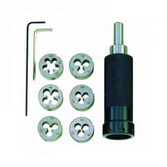 Die Holder With Dies For M3 to M10 Male Threads