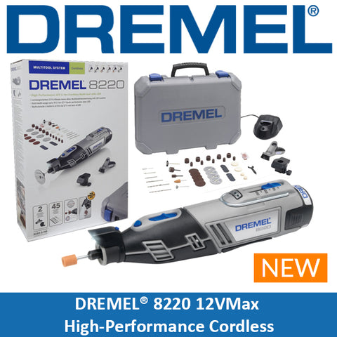 DREMEL® 8220 ( 8220-2/45 ) 12V Flexshaft Bundle