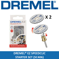 Dremel 406 EZ SpeedClic: Starter Set