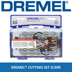 Dremel 690 EZ SpeedClic Accessory Set