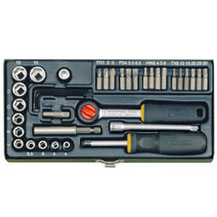 38 piece screwdriver/socket set